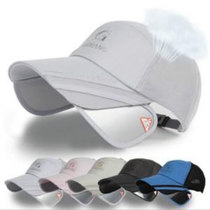 2018 Homens Mulheres Moda Verão boné viseira ajustável novidade Golf Tennis Sun Hat