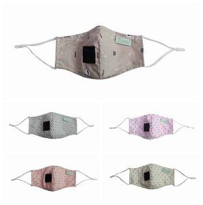Çocuklar Cratoon Baskı Yüz Maske Yıkanabilir Yeniden kullanılabilir Pamuk Ayı Baskı Yüz Maskeleri Straw Ağız Yüz Maskeler 11styles RRA3267 İçki
