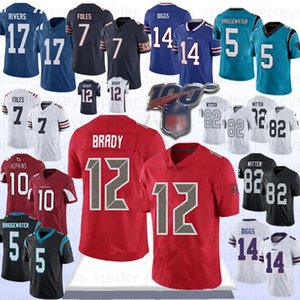 2020 Tom Brady Buccaneer Stefon Diggs Jersey Nick Foles Philip Rivers Deandre Hopkins Buffalo Todd Gurley Bill Cardinal Football Jersey