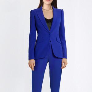 2019 Primavera e Outono Mulheres Blazer Tradition Sleeve clássico Escritório Ocupação Suit Venda correta Wear Suit Para Trabalho