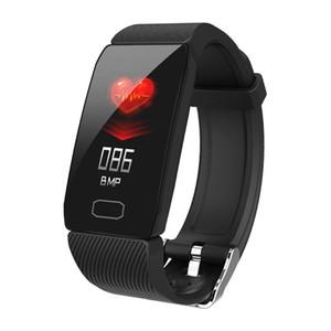 Smart Watch Bands Q1 Умный Браслет Фитнес-Трекер Сердечного ритма Метр Артериального Давления Мониторинг Сна Мониторинг Время Времени IP67 Водонепроницаемый