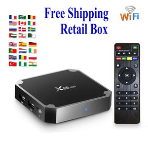 Лучший Android TV Коробки Amlogic S905W S905X3 H6 2 + 16GB WIFI 2,4 X96 воздуха 4 + 64GB BT4.0 PK H96 MAX Smart TV