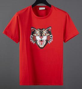 T shirt Hochwertige Modedesigner kurzes T-Shirt im europäischen Stil Männer-Rundhals-T-Shirt aus 100% Baumwolle Kurzarm-Herren-xshfbcl Kleidung