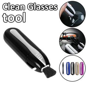 Carbon Tech Occhiali Cleaner strumento degli occhiali da sole Eyewear spazzola di pulizia di manutenzione di cura di visione professionale Cleaner Occhiali