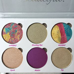 Top for love luxe beauty Fantasy palette You Are Unbelievably Beautiful highlighters Bronzers Kit Makeup Face Powder Palette fast ship