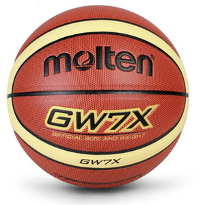 الجملة أو التجزئة GL7 رخيصة كرة السلة الكرة PU الماديه SIZE7 الرسمية لكرة السلة الحرة مع صافي حقيبة + إبرة
