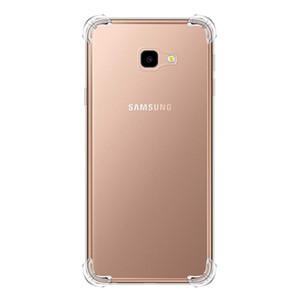 Противоударный прозрачный чехол для Samsung J4 / J4 Plus / J4 Prime / J6 / J6 Plus / J6 Prime / A7 2018 Прозрачная защита Задняя крышка + ремешок