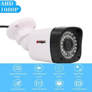 1080 وعاء Anspo العهد cctv كاميرا الأمن نظام 2.0mp في ليلة الرؤية الرئيسية مراقبة ip65 للماء dvr كاميرا كيت استبدال