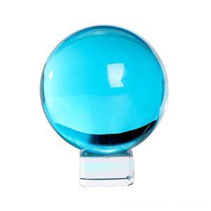 Colorful Glass Balls for Decor Feng Shui Decorating Good Luck Other Home Decor Home Dcor Meditation Healing Ball K9 Crystal Glass Globe Magi