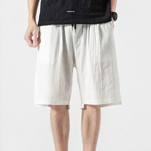Shorts Men Summer Casual Harem Pants Jogger Pants Fitness Streetwear Modis Trousers Linen Loose Men Shorts bermuda homme