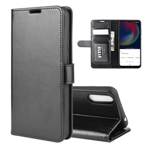 For Wiko view 4  4 lite R64 Texture Single Horizontal Flip Protective Case with Holder & Card Slots & Wallet& Photo Frame