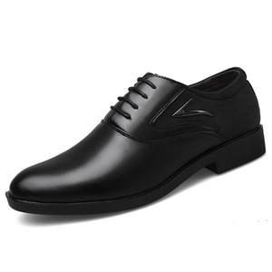 Size 38 ~ 48 Patchwork punta aguzza del vestito di cuoio Scarpe Uomo Lace-up Scarpe Uomo Marrone formali per Suit Zapatos De Vestir Hombre Cuero