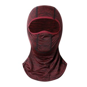 New Ice Silk Sunscreen Mask Summer Unisex Cycling Masks Multifunctional Outdoor Sports Dust Proof Windproof Head Scarf Sweat Towel
