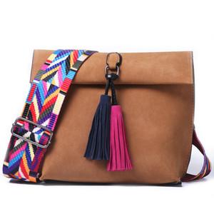 2018 Small Women Messenger Bag Tassel Crossbody Bags For Girls Shoulder Bags Female Designer Handbags Bolsa Feminina Bolsos Muje