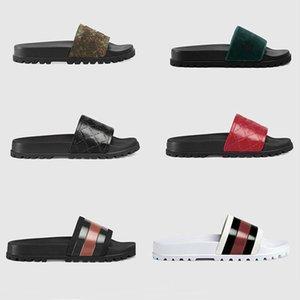 Gear dipleri Ayaklı kadınları Flops terlik kadınlar Çiçek Plaj nedensel terlik erkeklerin kadınları çizgili yazdırma'den brokar slayt sandalet slipperssize35-45