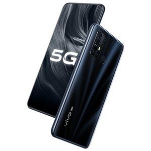 Original VIVO Z6 5G LTE Mobile Phone 8 GB de RAM 128GB ROM Snapdragon 765G Octa Núcleo Android 6,57 polegadas Telefone 48MP cara ID de impressão digital inteligente celular