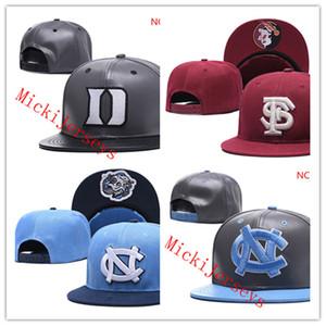 NCAA 노스 캐롤라이나 타르 힐 캡 회색 듀크 블루 데빌 모자 레드 플로리다 주 세미 놀 모자 하나 개 크기 적합 모든 스냅 백