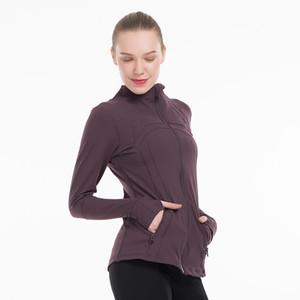 Kadınlar Spor Fermuar Hızlı Kuru Spor Ceket Dış Giyim Yoga Salonu Profesyonel Polyester Kar çalışan giyim