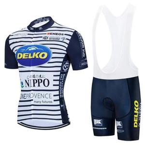 2020 que completa un ciclo la ropa del equipo de la manga jersey Delko Nippo Hombres de BIB fábrica pro equipo de ropa de la bici ropa ciclismo