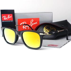 fdhfd nnngghet 2019 clásico de alta calidad gafas de sol piloto diseñador de la marca para mujer para hombre Gafas de sol Gafas Metal Vidrio Lenses1885