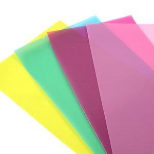20*34cm Candy Color Transparent Synthetic Leather Fabric Set,DIY Handmade Materials For Making Crafts Handbag,1Yc7026