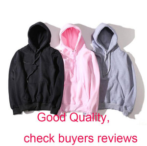 New Fashion Hoodie Men Women Sport Sweatshirt Size S-XXL 5 Color Cotton Blend Thick Fashion Hoodies Pullover Long Sleeve Streetwear