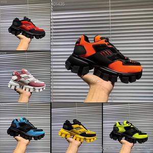 Sneakers Chaussures Chaussures Hommes Casual Luxury Designer Mens Classique Chaussures Casual Tissu en caoutchouc Formateurs d'extérieur Chaussures de sport Nuage Buste de Thunder Knit