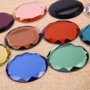 Bırak Shipp Yeni Elmas cebi İnce Kompakt Ayna Blank Yuvarlak Metal Makyaj Ayna DIY Costmetic Ayna Düğün Hediye