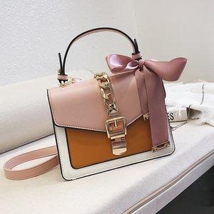 Designer-Crossbody Bags for Women Luxury Handbags Scarf Shoulder Bag Ladies Sac Main Leather Purses