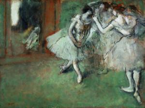 Pintura Edgar Degas óleo sobre tela Impressionismo Arte Grupo de dançarinos pintado à mão HD letras grandes Pictures 191023