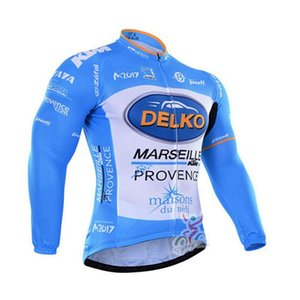 Spring autum Delko team Men Cycling long Sleeves jersey Bicycle Clothing Ropa Ciclismo Mtb ourdoor sportwear V62912