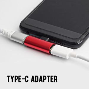 2 en 1 Tipo C USB 3.1 Cargador de Audio Adaptador Dual Cargador AUX Splitter Auriculares Conector AUX Cable Adaptador Convertidor para Huawei