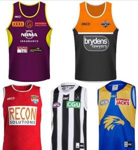 2019 vaqueros de tigres de Wests Brisbane Broncos cimarrones Nueva Zelanda de rugby jerseys singlete Jersey NRL Liga Nacional camisa un chaleco singlete