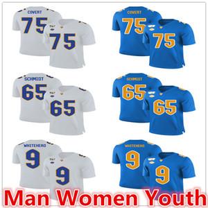 özelleştir NCAA Pittsburgh Panterler futbol formaları Jimbo Covert 75 Joe Schmidt 65 Whitehead 9 forması herhangi bir ad numarası boyut S-5XL