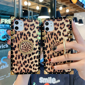 Luxury Leopard Phone Case for Samsung Note 10 9 Galaxy S20 S10 S9 PU Leather Cover for IPhone 11 Pro X Xs Max XR 8 7 Plus