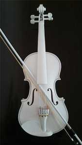 Student Acoustic Violin Voll 4/4 Ahorn Fichte mit Fall Bow Rosin alle weißen Farbe