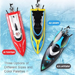 JJRC S1 S2 S3 Wasserdicht Umsatz Zurücksetzen Wasserkühlung High Speed 25km / H RC Boot Mini Racing RTR Fernbedienung Spielzeug Geschenk