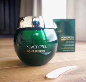 Top Brand PowerCell Night Rescue FACE Crema per viso 50ml Skin Relpumping Cream Mousse Crema Viso Spedizione gratuita