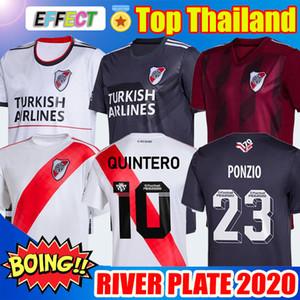 Nova 2020 River Plate Início Branco Futebol 70 Anos Preto Longe Red G.MARTINEZ QUINTERO Pratto 19/20 Riverbed Football Shirt Uniforme