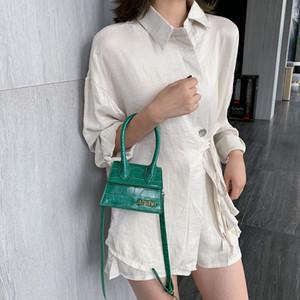 2020Stone Pattern PU Leather Mini Crossbody Bags For Women 2019 Lipstick Coin Messenger Shoulder Bag Female Fashion Handbags