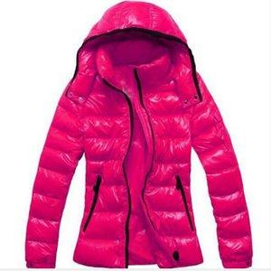 Hot Fashion brand woman DOWN JACKET SHORT COAT MAYA OUTWEAR Down jacket women winter coats jacket Hooded coat