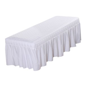 Standard Massage Table Skirt Beauty Face Facial Bed Cover Linen Valance Sheet for Most Cosmetic Beds