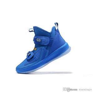 Mens lebron soldado 13 tênis de basquete azul royal branco preto vermelho juventude crianças tops altos novos soldados lebrons 16 sneakers botas com tamanho da caixa