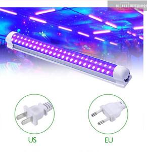 DJ 디스코 빛 10W 무대 조명 DJ UV 퍼플 파티 크리스마스 바 램프 레이저 무대 벽 세탁기 스포트 라이트 백라이트 용 튜브를 주도