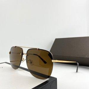 0620 Nuevas gafas de sol de diseñador de moda Marco cuadrado de metal Gafas de estilo popular de calidad superior Bestselling UV400 Gafas de protección con estuche