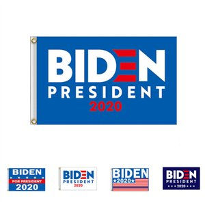90*150CM BIDEN 2020 Presidential Campaign Flag The US Election Biden Letters Garden Banners Polyester Garden Home Hang Flags 2020 Gifts New