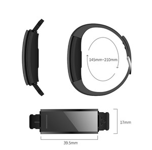 C11 Heart Rate Monitor Smart Bracelet Fitness Tracker Smart Watch Anti Lost Waterproof Smart Wristwatch For iPhone iOS Android Phone Watch