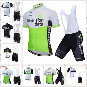 squadra DIMENSION DATA ciclismo manica corta Pantaloncini maglia bretelle 2020 mens ropa Ciclismo estate traspirante MTB biciclette abbigliamento C618-13