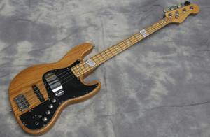 Promoción, 4 cuerdas Cuerpo de fresno natural Marcus Miller Jazz Bass de la guitarra eléctrica