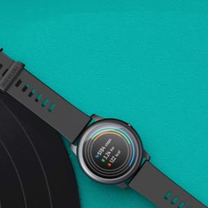 Xiaomi Youpin Оригинал Haylou Solar LS05 Смарт часы металла спорта круглый корпус сердечного ритма сна монитор IP68 водонепроницаемый 30 день батареи